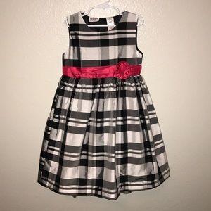 Blueberi Boulevard Black White Party Dress 6X